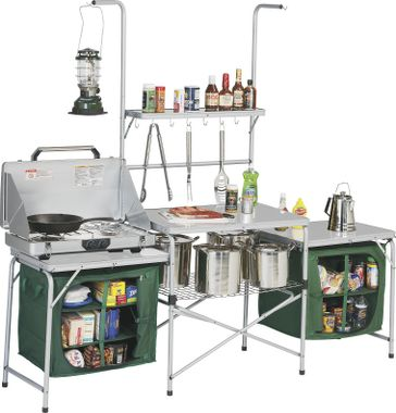 Rei portable camp kitchen - Glamping Versus Camping Get Ready Go